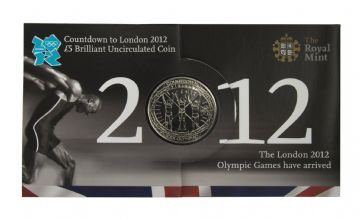 2012 COUNT DOWN TO THE OLYMPICS £5 COIN Long Sleeve